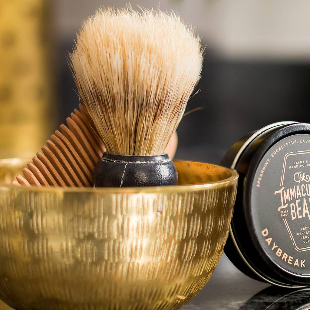 The Immaculate Beard // Shave Brush
