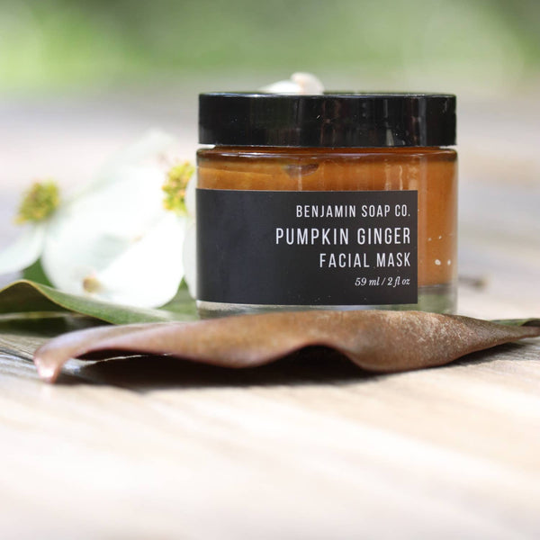 Benjamin Soap Co. // Brightening Pumpkin & Ginger Root Enzyme Mask