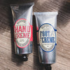 Caswell-Massey // Dr. Hunter's Rosewater Hand Creme, Refreshing Foot Creme