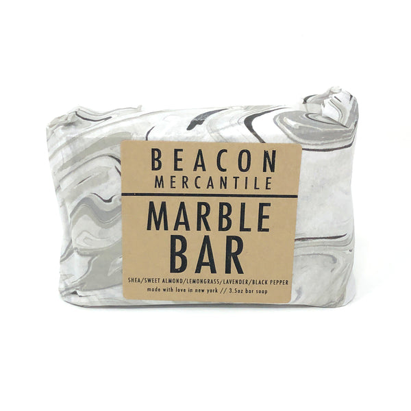 Marble Bar- Shea, Peppermint, Lavender, Black Pepper, Lemongrass