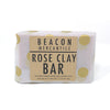 Rose Clay Bar- French Rose Clay, Sweet Almond, Shea, Rose Otto