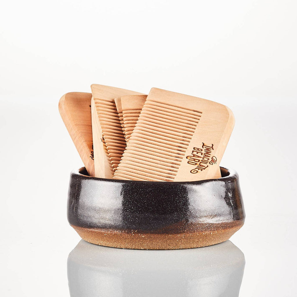 The Immaculate Beard // Wooden Beard Comb