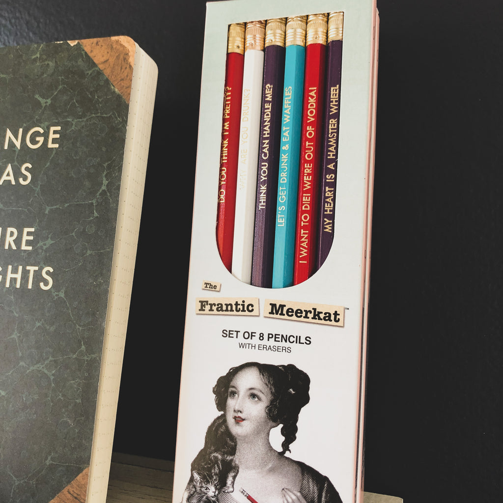 Frantic Meerkat Pencil Set