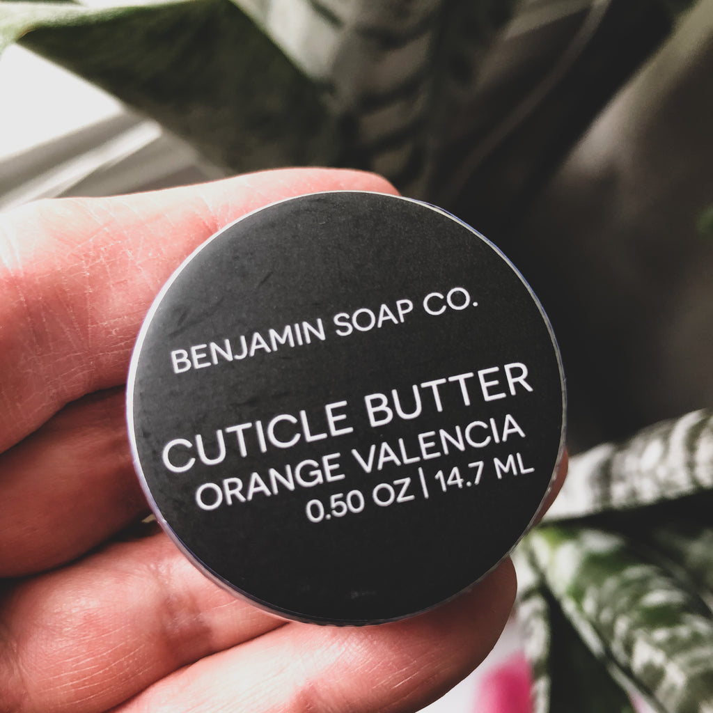 Benjamin Soap Co. // Cuticle Butter- Valencia Orange