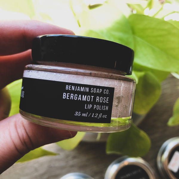 Benjamin Soap Co. // Lip Polish- Bergamot Rose