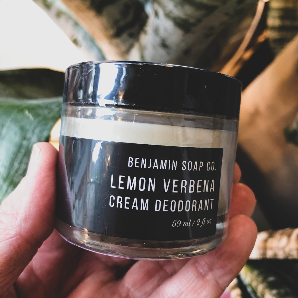 Benjamin Soap Co. // Cream Deodorant- Lemon Verbena