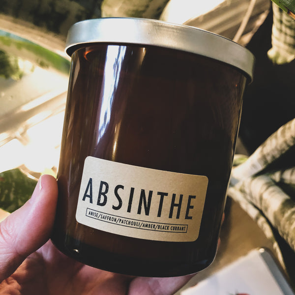 Seasonal Candle // Absinthe