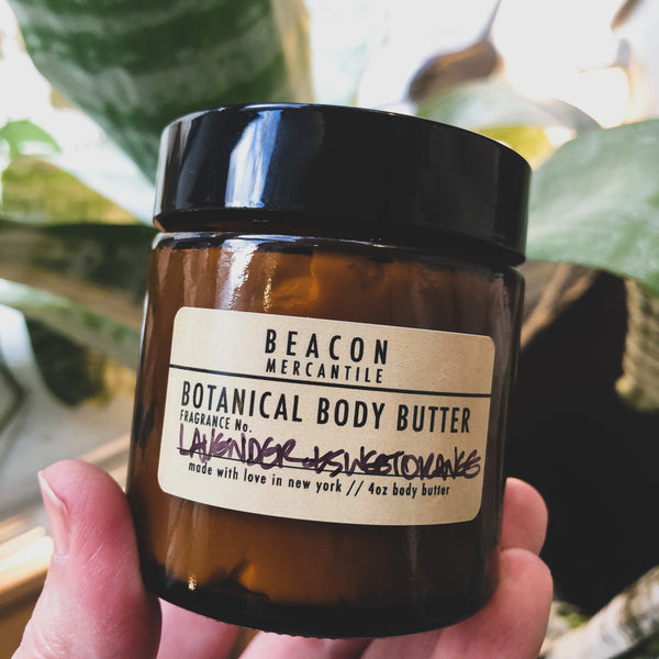 Botanical Body Butter- Shea, Cocoa Butter, Aloe