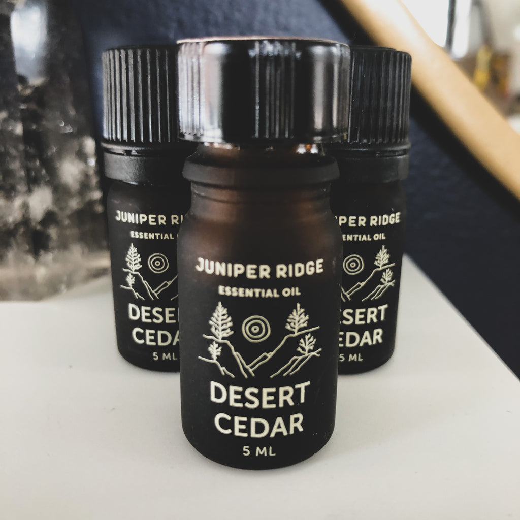 Juniper Ridge // Wild Harvested Essential Oils- Desert Cedar, White Sage