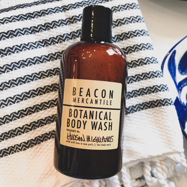 Botanical Body Wash with Aloe, Coconut, Olive, Sunflower, and Rosemary