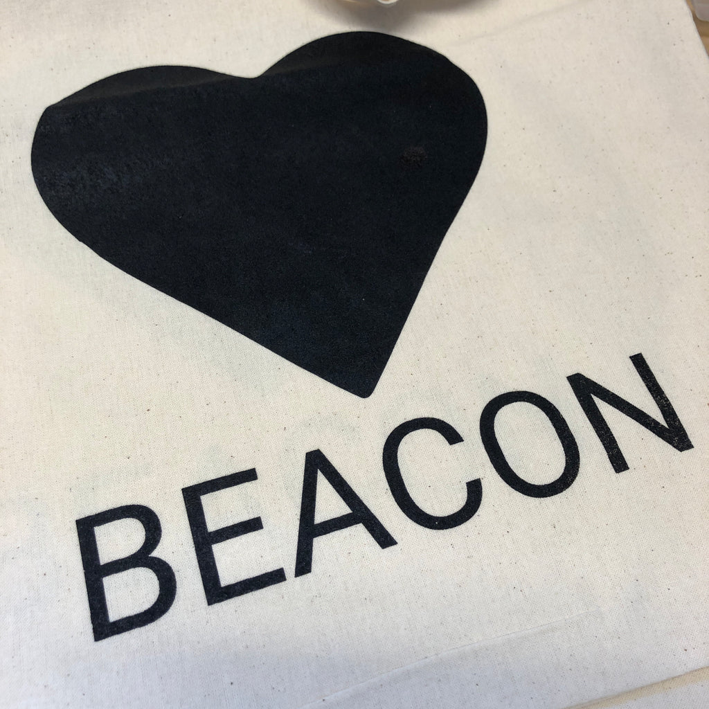 🖤 BEACON Organic Cotton Giveback Tote