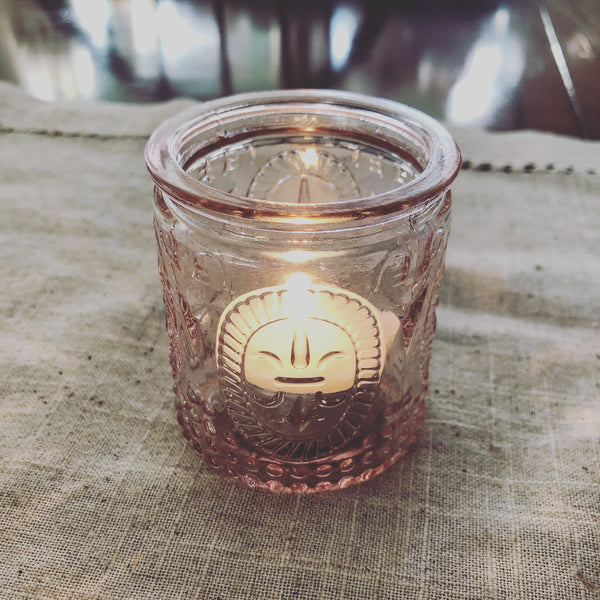 Farmhouse Votive with Long Burn Tealight