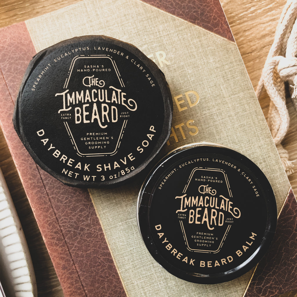 The Immaculate Beard // Shave Soap- Daybreak