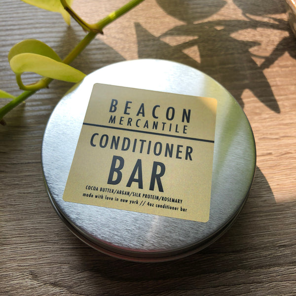 Conditioner Bar- Cocoa Butter, Argan, Silk Protein, Rosemary