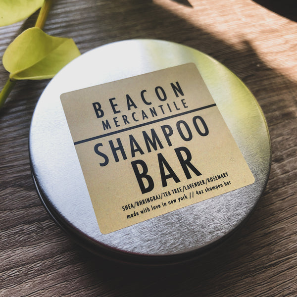 Shampoo Bar- Shea, Bhringraj, Lavender, Tea Tree, Rosemary