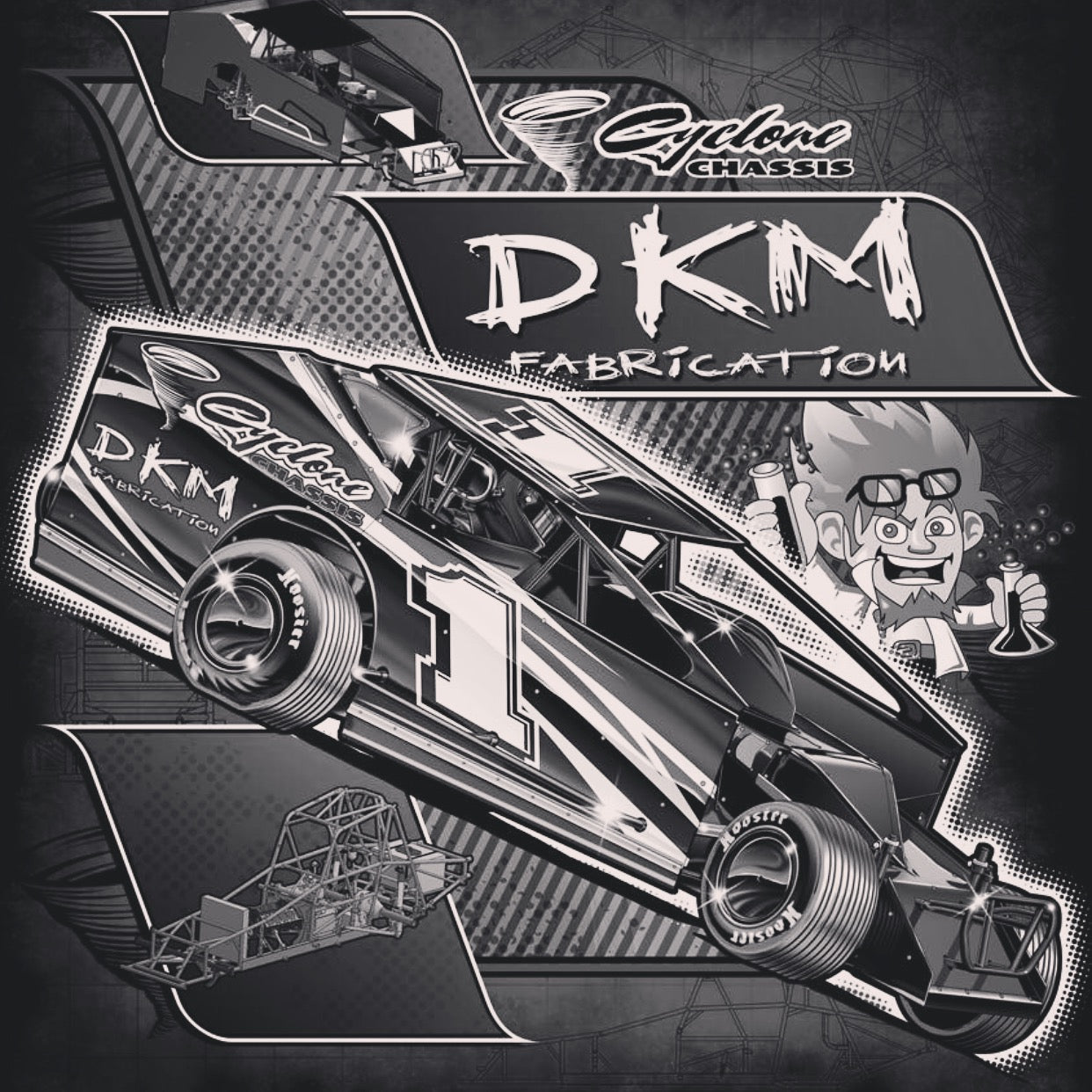 DKM CYCLONE COMPONENT CONVERSION PACKAGE