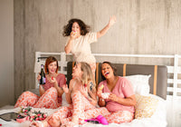 family pajamas: dreaming in pink