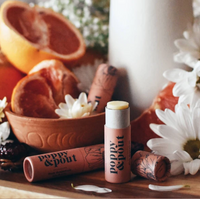 poppy and pout flower powered lip balm