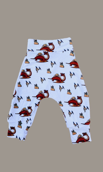 dragons: harem pants