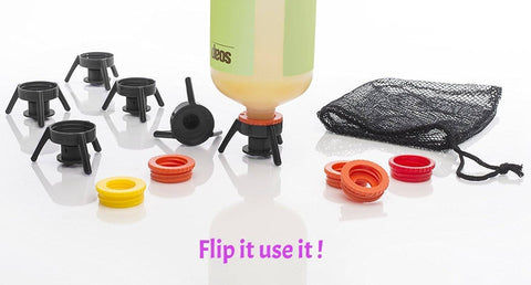 Image of WoLf FuSiOn Bottle Cap System- Flip It! (6 Pcs)