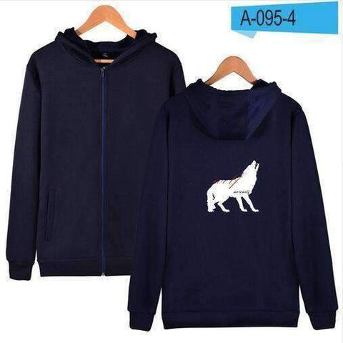 WoLf FuSiOn Hoodies & Sweatshirts WOLF™ PRINTED COOL ZIPPER HOODIES (MEN/WOMEN)