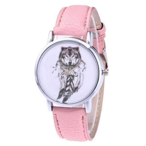 Wolves™ Unisex Leather Watch