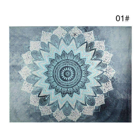 Image of WoLf FuSiOn Tapestry Blue / 210x150cm SUMMER BOHO TAPESTRY™