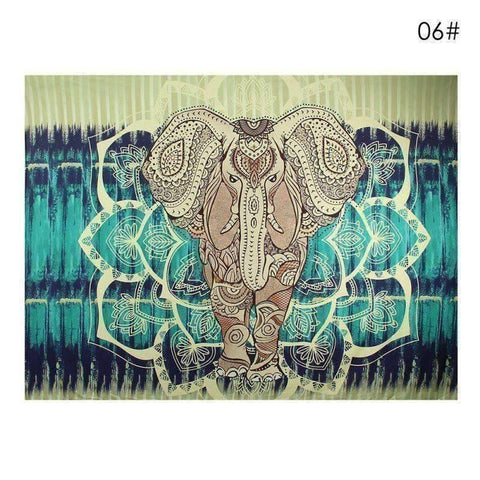 WoLf FuSiOn Tapestry Brown / 210x150cm SUMMER BOHO TAPESTRY™