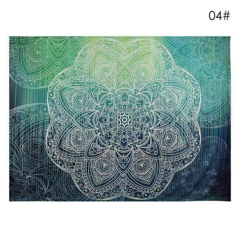 Image of WoLf FuSiOn Tapestry CanvaPurple / 210x150cm SUMMER BOHO TAPESTRY™