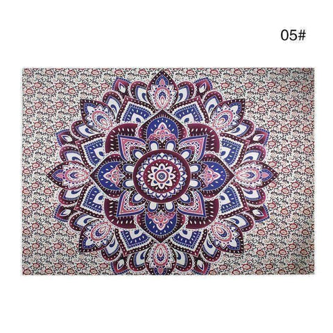Image of WoLf FuSiOn Tapestry Magenta / 210x150cm SUMMER BOHO TAPESTRY™