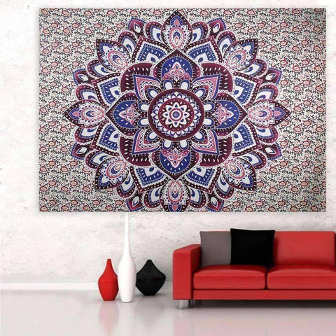 Image of WoLf FuSiOn Tapestry SUMMER BOHO TAPESTRY™