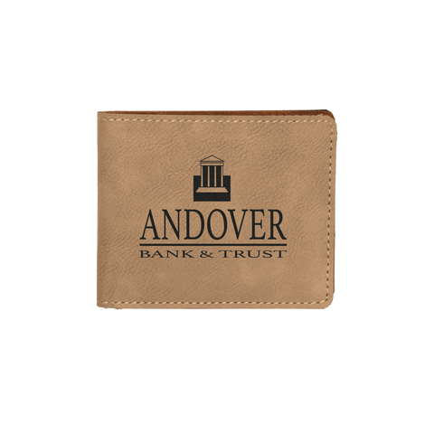 Light Brown Custom Wallet - Infinity Parkour