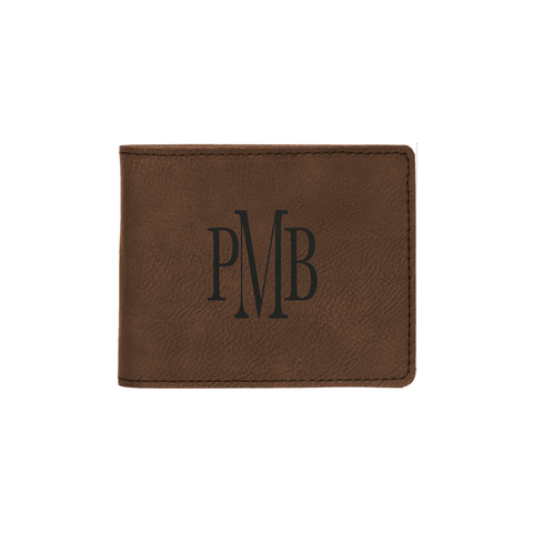 Dark Brown Custom Wallet - Infinity Parkour