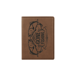 Dark Brown Passport Holder - Infinity Parkour