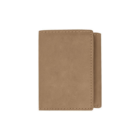 Light Brown Trifold Wallet - Infinity Parkour