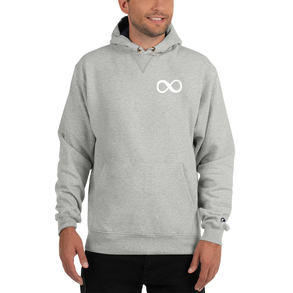 Infinity Badge Hoodie by Champion - Worthmore Designs