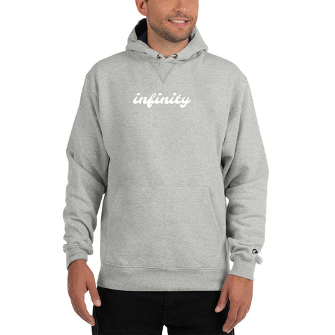 Cursive Infinity Hoodie by Champion - Infinity Parkour