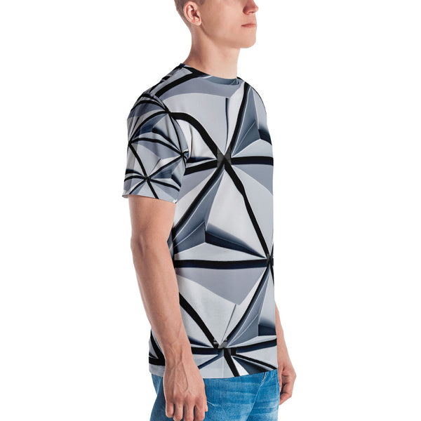 MEN'S ABSTRACT T-SHIRT - Worthmore Designs