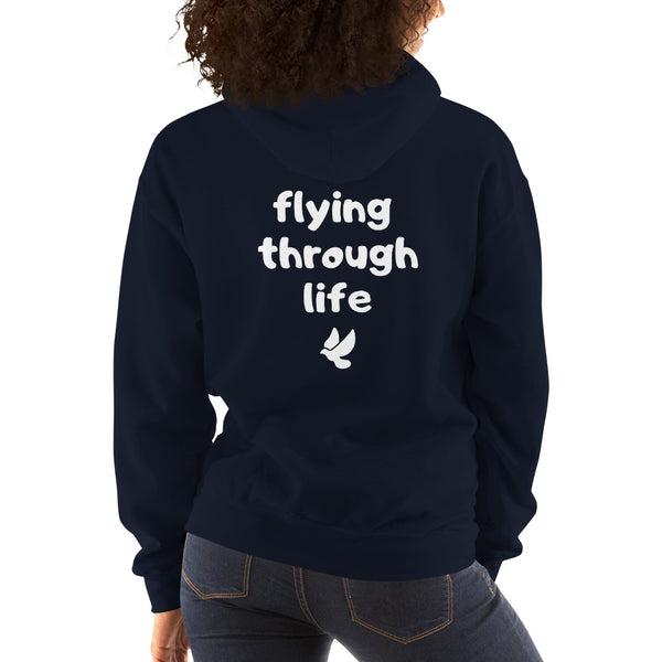 Flying Through Life Hoodie - Infinity Parkour