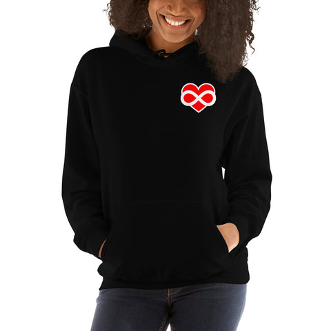 Heart Infinity Hoodie - Infinity Parkour
