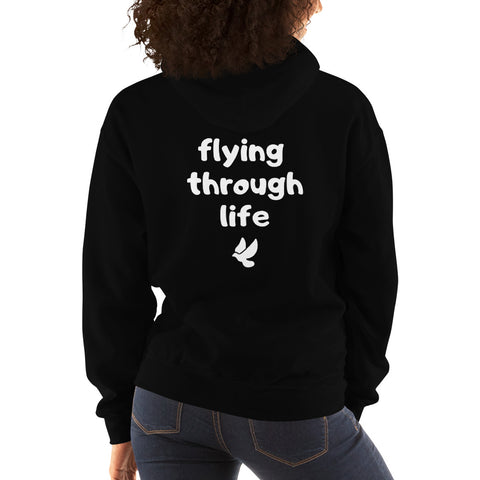 Flying Through Life Hoodie - Worthmore Designs