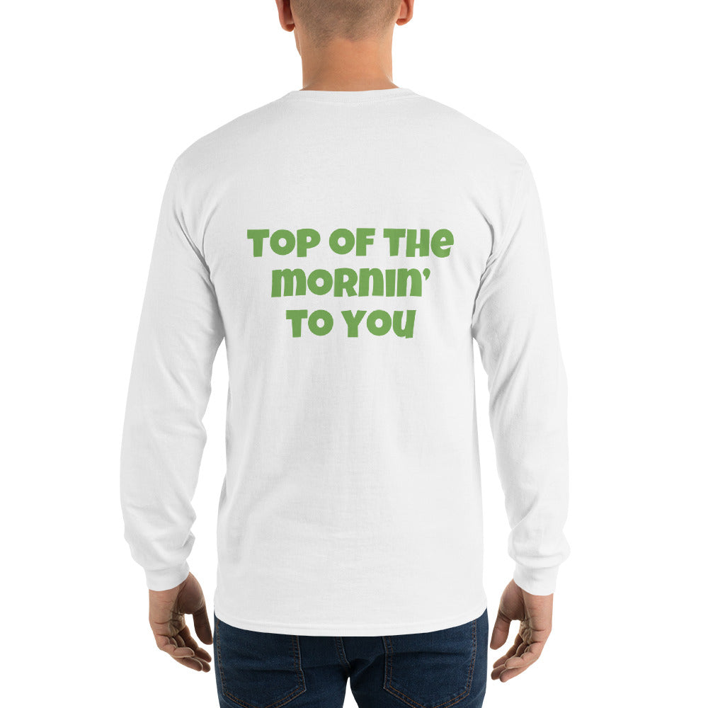 Top of the Mornin' to You Long-Sleeve T-shirt - Infinity Parkour