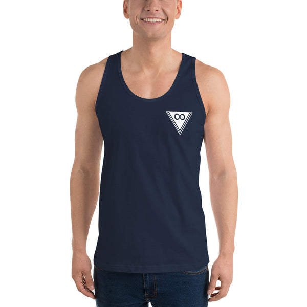Men's Invert Triangle Tank - Infinity Parkour