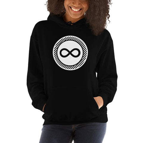 Infinity Emblem Women's Hoodie - Infinity Parkour