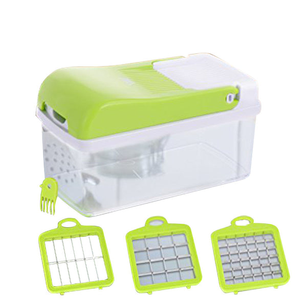 Vegetable Chopper, Kitchen Veggie Fruit Dicer Slicer, Food Cutter - Infinity Parkour