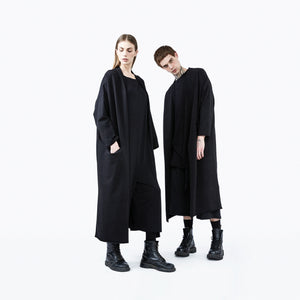 Kimon jacket black oversize unisex