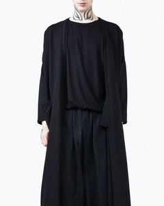 Kimon jacket black oversize