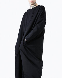 Kimon jacket black oversize detail
