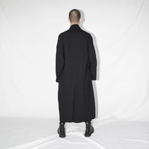 Oversize jacket black man back