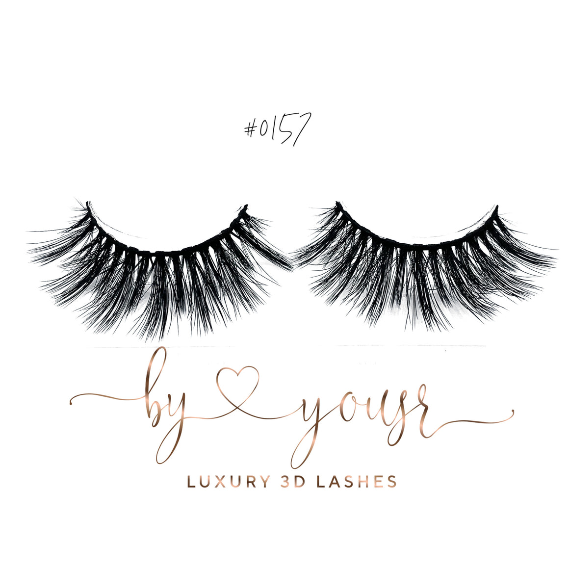 LUXURY 3D Lashes By Yousr #0157
